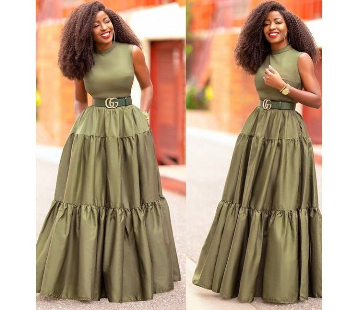 Long Gown style to sew your material