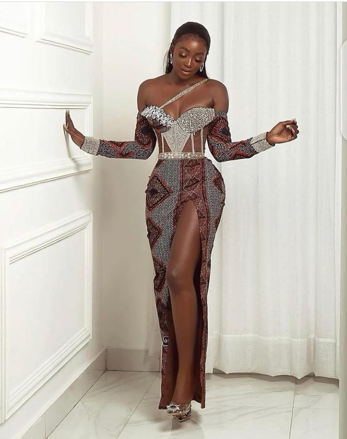 asoebi styles for weddings inspiration from Tolu bally