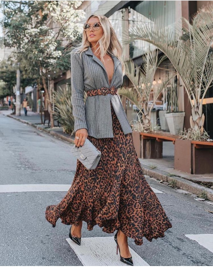 how to wear and style long skirts